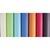 CLAIREFONTAINE Rouleau de papier Kraft couleur 65g. Format 3x0,7m. Coloris pastels assortis en présentoir