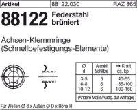 Achsen-Klemmringe FD10x18,0x1,8