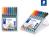 Lumocolor® permanent pen 318 Permanent-Universalstift F STAEDTLER Box mit 8 sortierten Farben