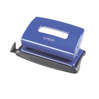 Locher (Büro) 1,2mm blau metall mit Anschlagschiene
