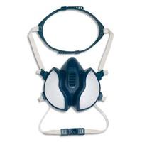 3M Masque coque 4251 gaz et vapeurs FFA1P2RD jeu de brides et harnais, soupape parabolique K4251