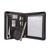 5 ETOILES Conf�rencier EXCLUSIVE PVC noir. Fermeture zip, divers rangements, porte-stylos et porte-bloc.
