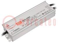 Alimentador: por impulso; LED; 151,2W; 24VCC; 6,3A; 90÷305VCA; IP67