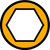 Symbol zu ISO4014 10.9 M20x200 verzinkt Sechskantschraube mit Schaft (DIN 931)