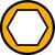 Symbol zu ISO4017 10.9 M20x240 verzinkt Sechskantschraube ohne Schaft (DIN 933)