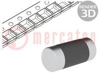 Weerstand: metal film; SMD; 0204 minimelf; 1,1Ω; 0,4W; ±1%