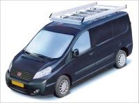 Dachgepäckträger aus Aluminium für Fiat Scudo, Bj. 2007-2016, Radstand 3000mm, Normaldach, mit Hecktüren
