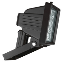 Produktabbildung - Halogenstrahler 120 Watt schwarz inkl. Lampe