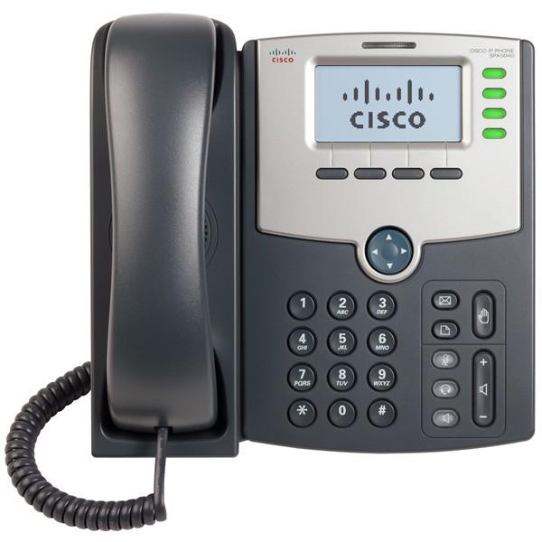Cisco SPA504G 4-Line IP Phone with Display, PoE and PC Port - SPA504G