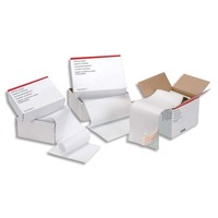 Boîte de 1250 paravents listing format 240x11 2 exemplaires 56/57g bande caroll détachable