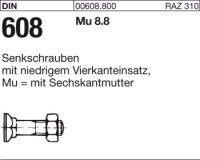 DIN608 M16x80