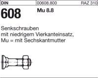 DIN608 M10x50