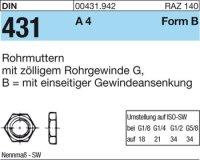 Rohrmuttern BG1/2SW32