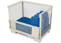 Gitterbox inklusive Gitterboxwanne GW-Z aus Polyethylen (PE), Abb. ähnlich