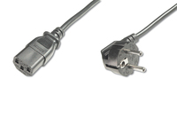 Digitus AK-440100-050-S napájací kábel Čierna 5 m CEE7/7 IEC C13