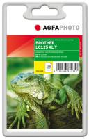 AgfaPhoto APB125YD inktcartridge Geel