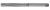Handreibahle PROFILINE HSS DIN206-B D.14mm L.163mm Schneiden-L.81mm 8 Schneiden