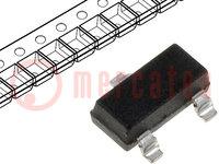 Tranzisztor: NPN; bipoláris; 20V; 2,5A; 625mW; SOT23