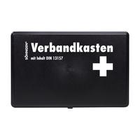 Verbandkasten KIEL KU-schwarz mit Füllung Standard DIN 13157