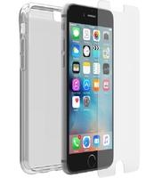 OtterBox Clearly Protected Skin mit AlphaGlass voor Apple iPhone 6/6s - beschermhoesje + Gehard glazen screenprotector