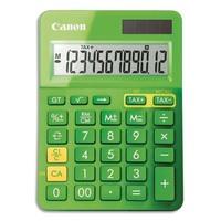 CANON Calculatrice de bureau 12 chiffres LS-123K Verte 9490B002AA