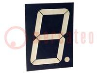 Display: LED; 7-segmentig; 101,2mm; rot; 26-105mcd; Anode; Anz.Z:1