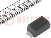 Diode: Gleichrichterdiode Schottky; SMD; 40V; 1A; Ufmax:0,55V