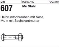 Halbrundschrauben M8x40