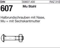 Halbrundschrauben M10x25