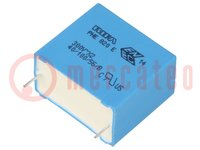 Condensator: polyester; 1uF; 300VAC; Raster:27,5mm; ±20%