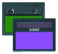 Schweißerfilter SINO vario2 / V913, 4/9-13 innen einstellbar, Sichtfeld: 46,5 x 96 mm