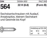 DIN564 BM10x25