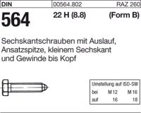 DIN564 BM10x60