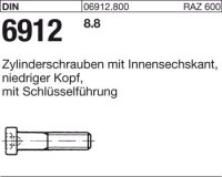 DIN6912 M16 x 130 mm Stahl 8.8