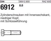 DIN6912 M10 x 80 mm Stahl 8.8