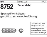ISO8752 - (-hülsen) 8x32