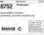 ISO8752 - (-hülsen) 8x36