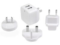 2X USB WALL CHARGER 17W / 3.4AFeeds