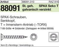 ABC-SPAX-S-Schrauben 3x20/16-T10
