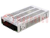 Tápegység: impulzusos; modul; 74W; 5VDC; 179x99x33mm; 12VDC; -5VDC