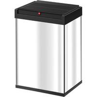 Szemetesvödör Big-Box® Swing, L, 35 l, 340x260x530mm, nemesfém