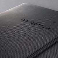 Sigel Conceptum Notebook Padded Cover Ruled 194pp 80gsm A4 Black Ref CO112