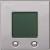 Multifunktions-Uhr, aluminium glänzend, System M