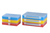 Boxy na drobný materiál z polypropylénu (PP) s oddielmi