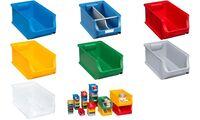 allit Sichtlagerkasten ProfiPlus Box 4, aus PP, blau (71510025)