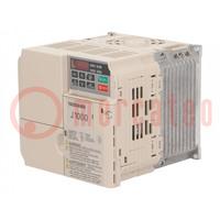 Invertor; Max.výkon motoru: 4kW; Výst.napětí: 3x400VAC; 9,2A