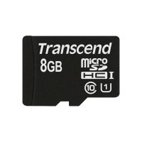 Transcend 8GB microSDHC Class 10 UHS-I Speicherkarte Klasse 10