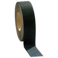 COBA Grip-Foot Tape Anti-slip Grit Surface Hard-wearing W50mmxL18.3m Black Mat Ref GF010002