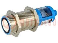 Senzor: ultrazvukový; priamy; Dosah:200÷1300mm; PNP / NO / NC
