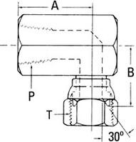 AEROQUIP 2244-8-8S